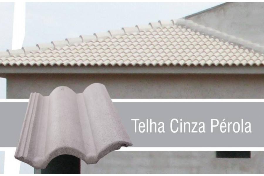 Telha Coppo Vêneto Cinza Pérola