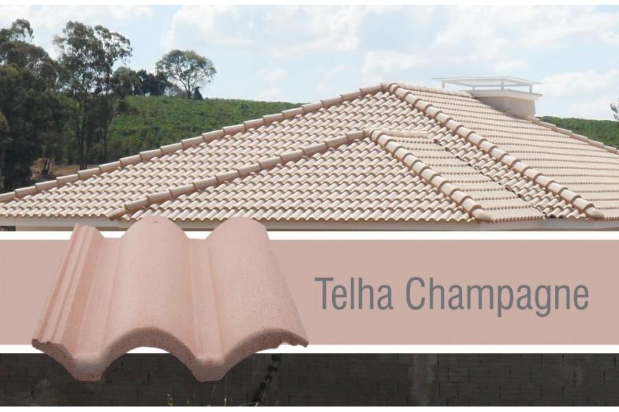 Telha Coppo Vêneto Champagne